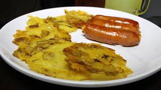 Chips de papa criolla al horno