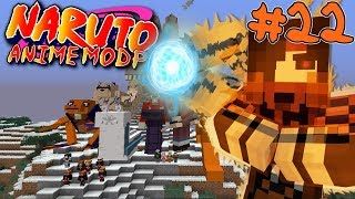 OUR MISSION! || Naruto Anime Modpack Episode 22 (Minecraft Naruto Anime Mod)