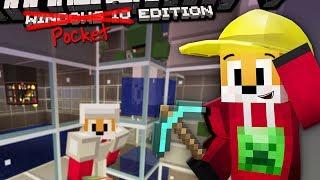 Minecraft | ZOMBIE SPAWNER XP FARM | Foxy's Bedrock Survival [21]