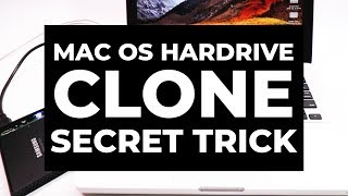 Mac Secret Trick - How to Clone Mac Hardrive with Disk Utility HDD SDD MacBook Pro 2010-2018