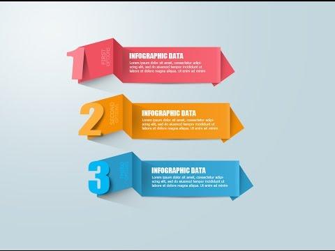 Photoshop Tutorial Graphic Design Origami Number
