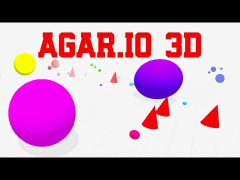 NEW AGAR.IO 3D GAME!