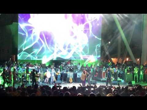 "DAMIAN MARLEY ft. Stephen Marley!! ""Medication"" @ ""Kaya Fest"" Miami, FL 04/22/17"