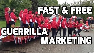 Free Guerrilla Marketing for small business -Fast, Fun, effective!