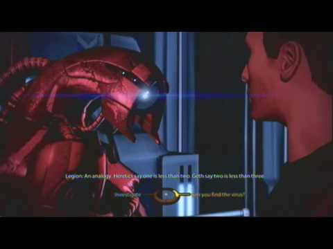 mass effect 2 how to get legion conversations