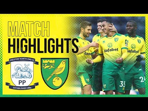 HIGHLIGHTS | Preston North End 2-4 Norwich City | Adam Idah Hat-trick!