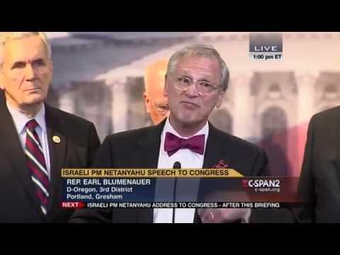 Earl Blumenauer on Netanyahu