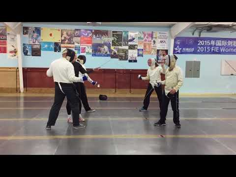 Fencing - Houston, Texas - Alliance Fencing Academy (Pairing Off)