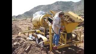 Mining Gold with a Gold Trommel in Arizona
