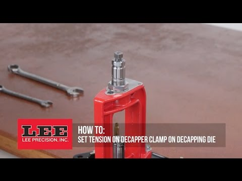 Decapping die lee precision.