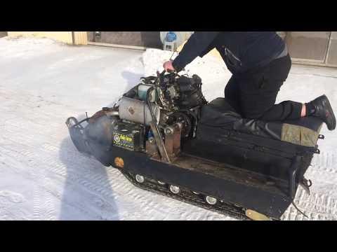 Буран с двигателем Honda hornet cb600