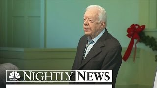 Jimmy Carter's Cancer-Free Announcement Shows Power of New Drugs | NBC Nightly News