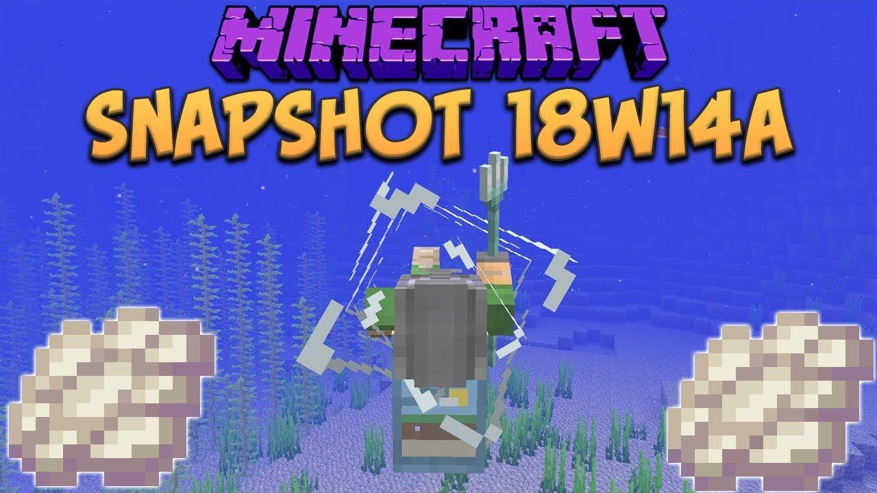 Minecraft 9.93 Snapshot 98w94a Phantom Membrane! Slow Falling Potion &  Trident Riptide Changes