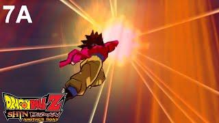 Dragon Ball Z Shin Budokai: Another Road (PSP) - Chapter 7A + Super Saiyan 4 Goku Gameplay