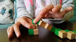 Snake (Yılan) Küp Yapımı (Snake Cube Puzzle)