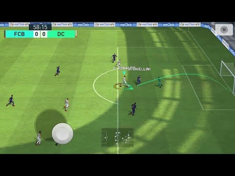 Pes 2018 Pro Evolution Soccer Android Gameplay #3