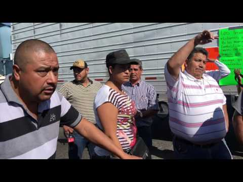 Manifestación carretera 90 Pénjamo