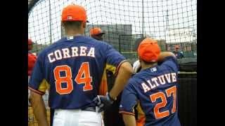 Carlos Correa Hitting Bombs