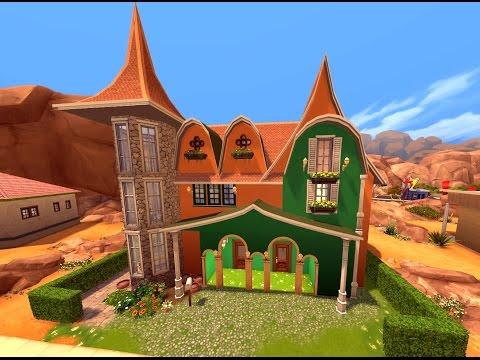 Sims 4 Дом эльфов