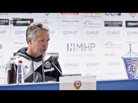 10. Spieltag   Kickers - SGD   Pressekonferenz nach dem Spiel