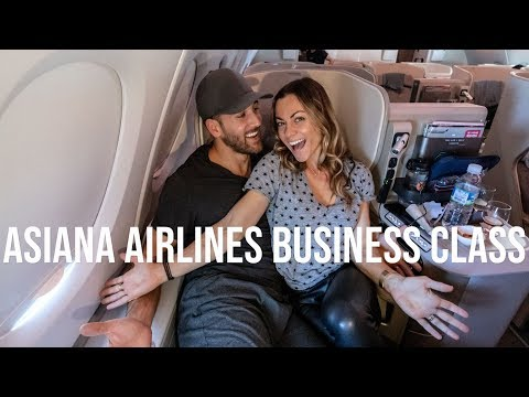 Asiana Airlines Business Class Review - LAX To Seoul Incheon