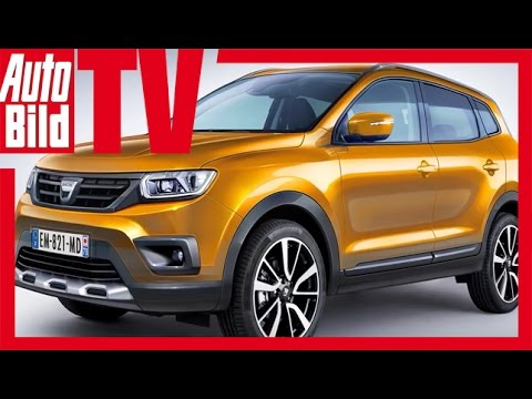 dacia duster 2017 der neue duster youtube. Black Bedroom Furniture Sets. Home Design Ideas
