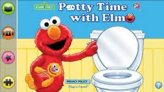 Potty Time with Elmo - Ellie - iPad app demo for kids