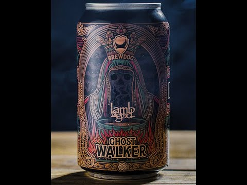LAMB OF GOD announce 'GHOST WALKER' non-alcoholic beer and merch line!