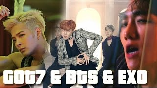 HardCarry/BloodSweat&Tears/Lotto - GOT7/BTS/EXO |MASHUP|