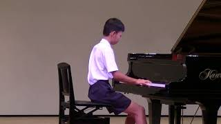 Tchaikovsky The Seasons, June:Barcarolle マサキ11歳.