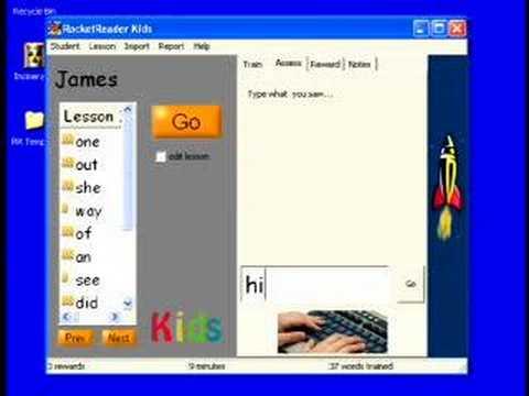 Reading Software For Children - RocketReader Kids