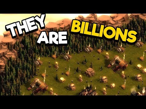 They Are Billions Gameplay #4 - Building Defenses & Waiting on Waves!