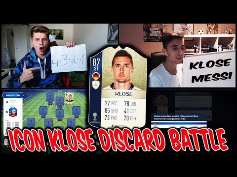 87 ICON KLOSE Discard im extremen WORLD CUP Squad Builder Battle! 🔥😱 Fifa 18 Ultimate Team