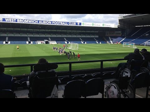 West Bromwich Albion Disabled Supporters' Club Open Day 2015