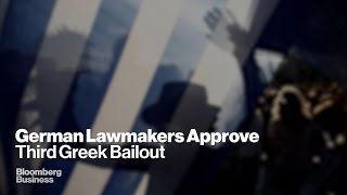 Greek Bailout: German Lawmakers Vote YES
