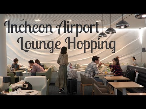 Incheon Airport - Lounge Hopping - Priority Pass Access