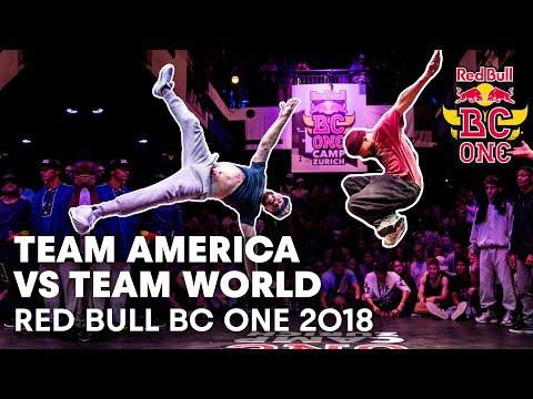 Team America vs. Team World Full Battle | Red Bull BC One 2018