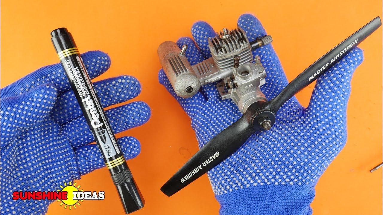 Smallest Engine In Your Hand   เครื่องยนต์จิ๋วเท่าปากกา แรงงงงงง