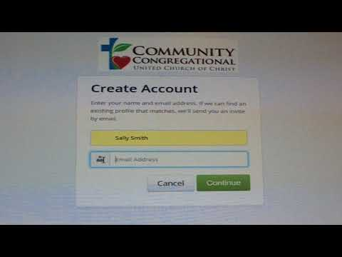 How to Create an Online Account for CCUCC