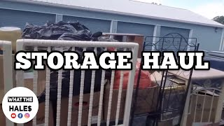 STORAGE HAUL I Bought Abandoned Storage Unit Locker / Opening Mystery Boxes Storage Wars Auction