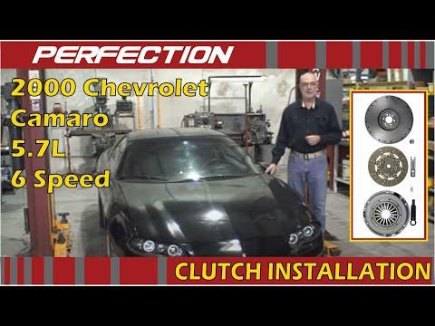 2000 Chevrolet Camaro 57l 6 Speed Clutch Installation Youtube