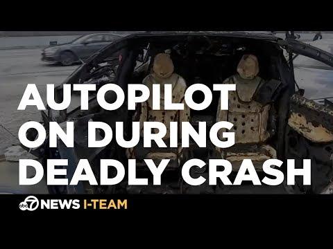 Tesla says Autopilot was on during deadly Mountain View crash