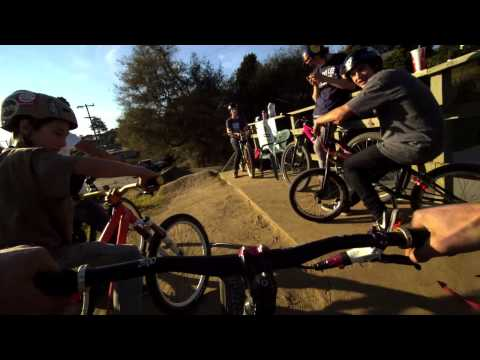 Mountain Bike Dirt Jumping - Aptos, California