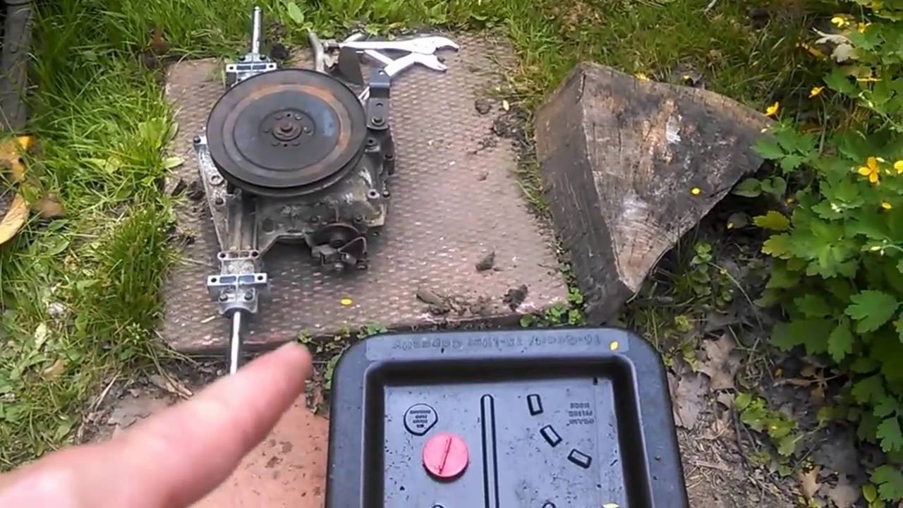 Craftsman Lawn Tractor Gear Drive Transmission Resurrection Youtube Motion Diagram And Parts List For Murray Ridingmowertractor