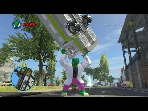 LEGO Marvel Super Heroes - Curt Connors / Lizard Free Roam ...