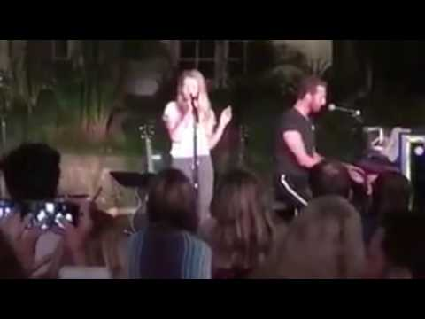 Chris Martin with daughter Apple - Just A Little Bit Of Your Heart (Ariana Grande) acoustic
