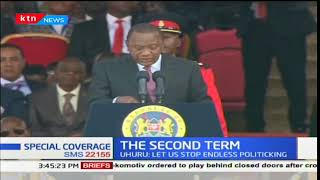 President Uhuru on devolution during the inauguration ceremony