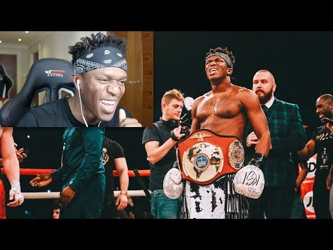 REACTING TO THE KSI WELLER FIGHT