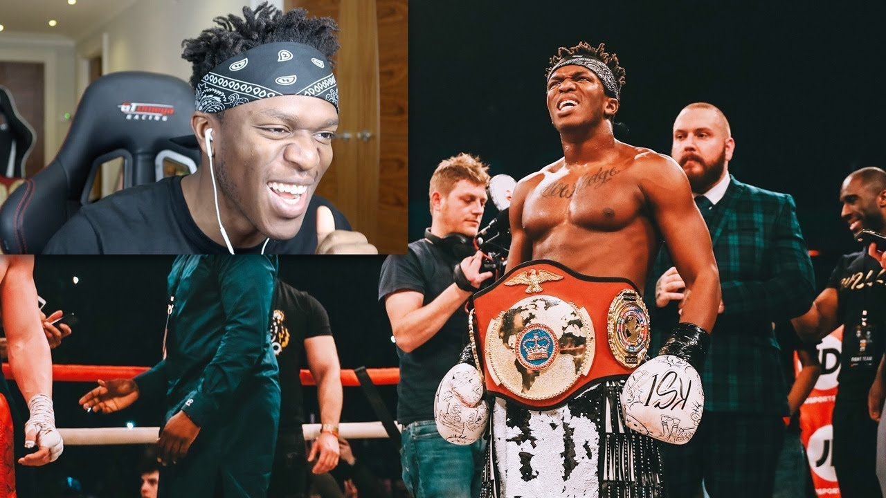 REACTING TO THE KSI WELLER FIGHT | Doovi