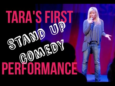 Tara Phillips  My first stand up performance